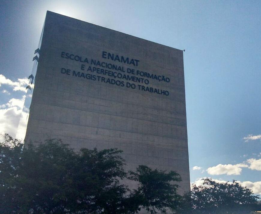 fachada da Enamat