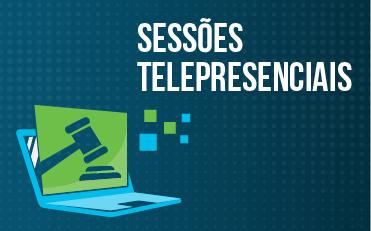 Banner Sessões Telepresenciais