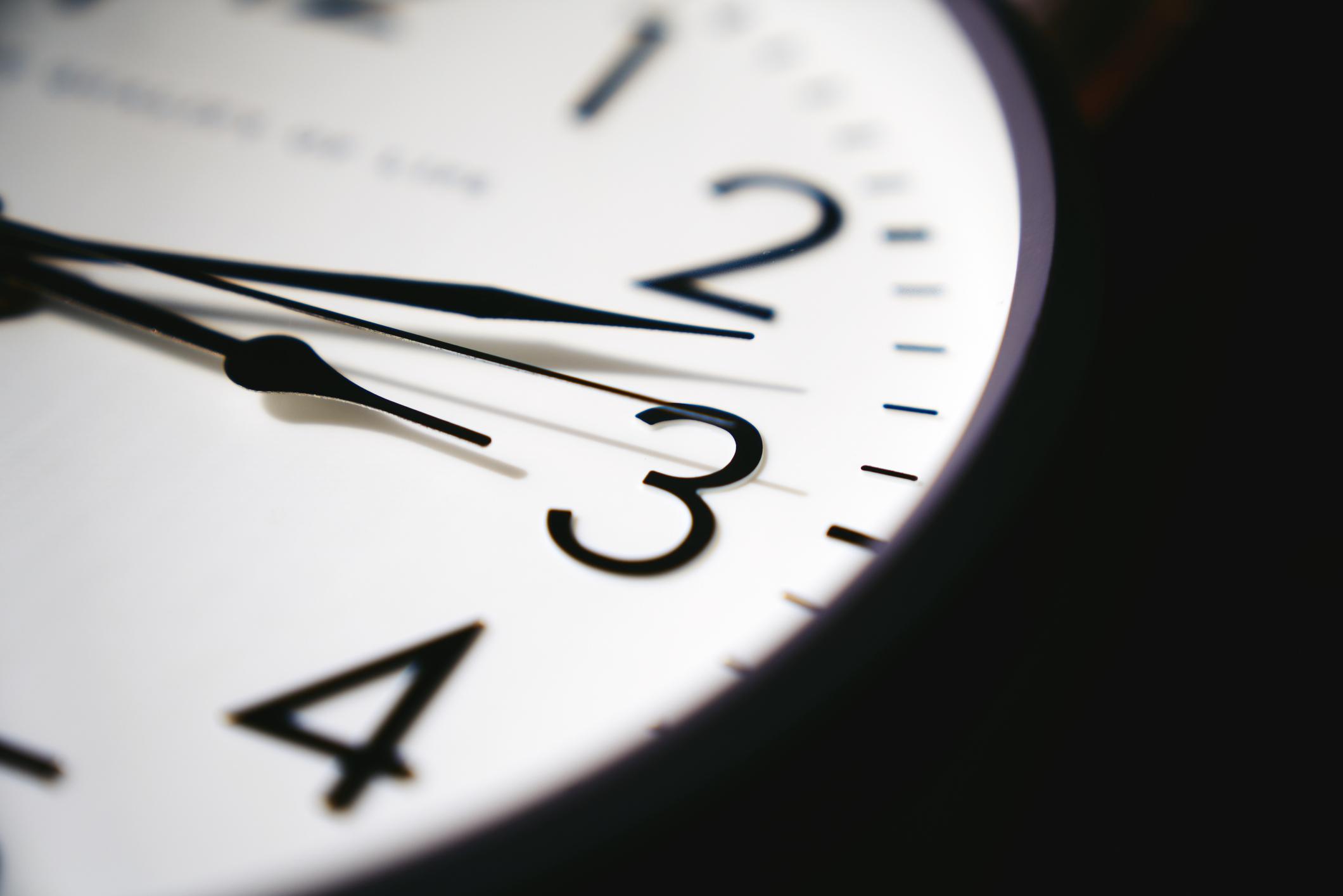 Detalhe de relógio